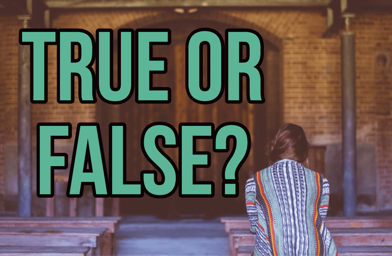 Bible Trivia True or False