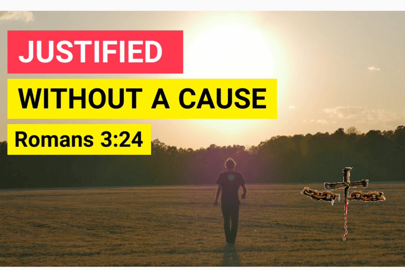 justified by grace through redemption