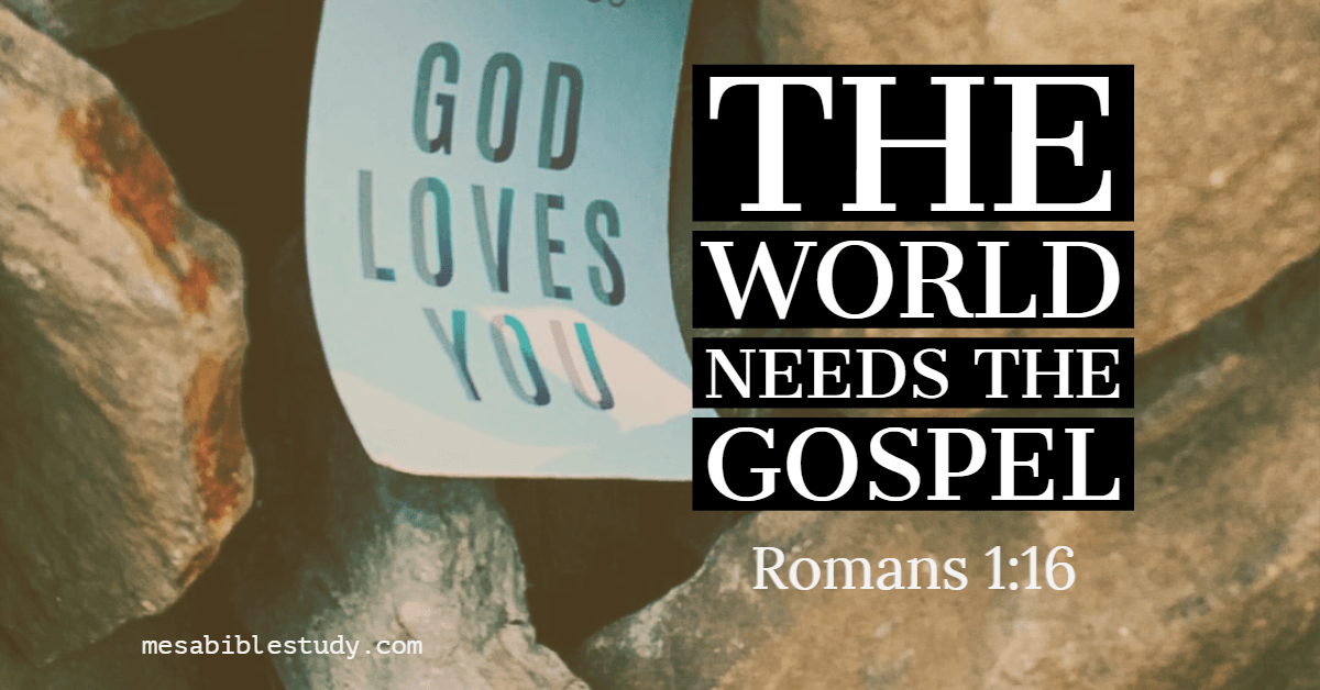 A Christians first priority is to share the gospel