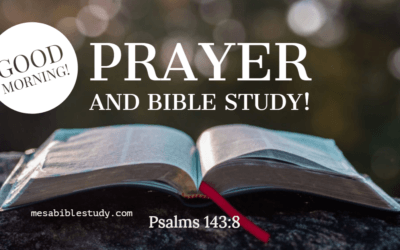 Start Every Day with Prayer and Bible Study then Check Social Media