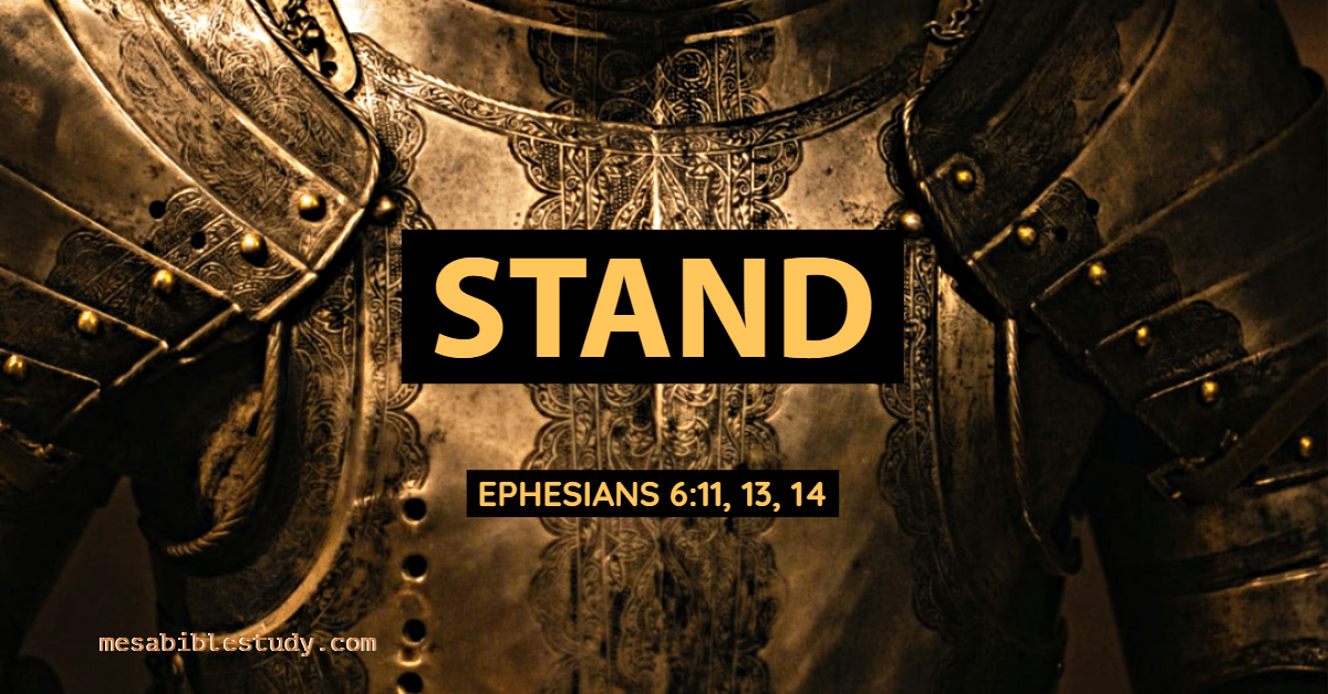 No matter what Christians must stand firm.