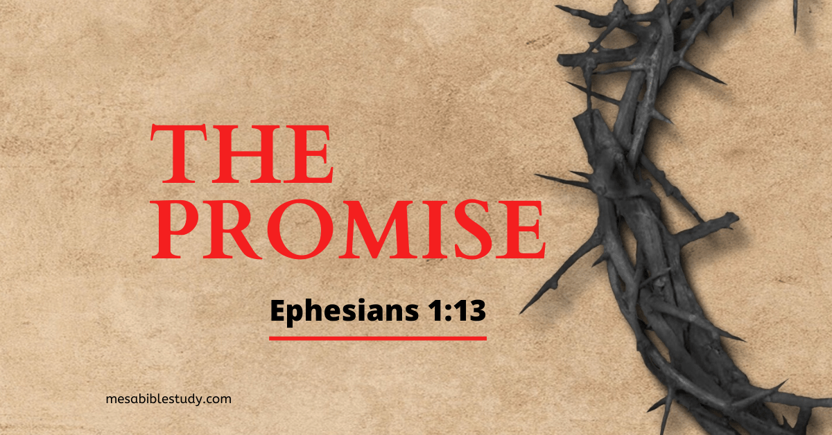 God's promise the moment a person believes the gospel