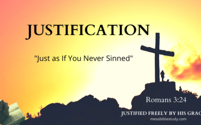 Biblical Explanation of The Doctrine of Justification 'Romans 3:24'
