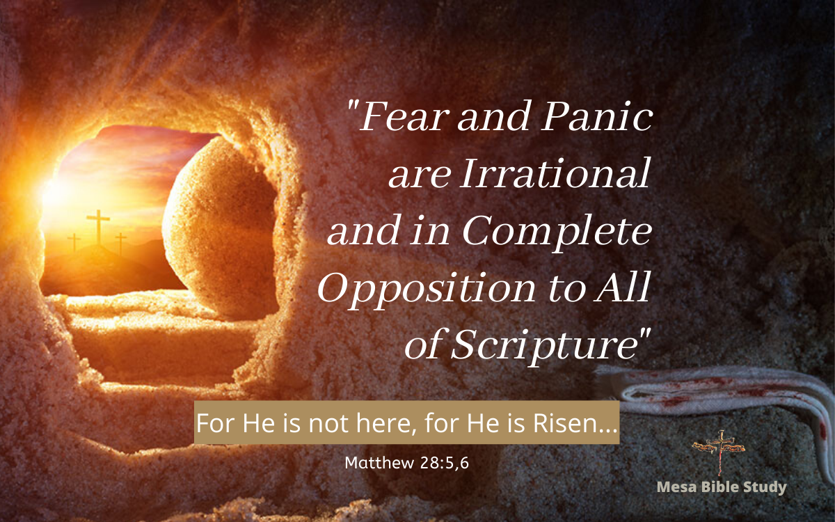 For He is not here, for He has risen just like He said