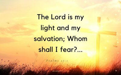 The Lord Jesus Christ is Our Light in this Dark and Evil World