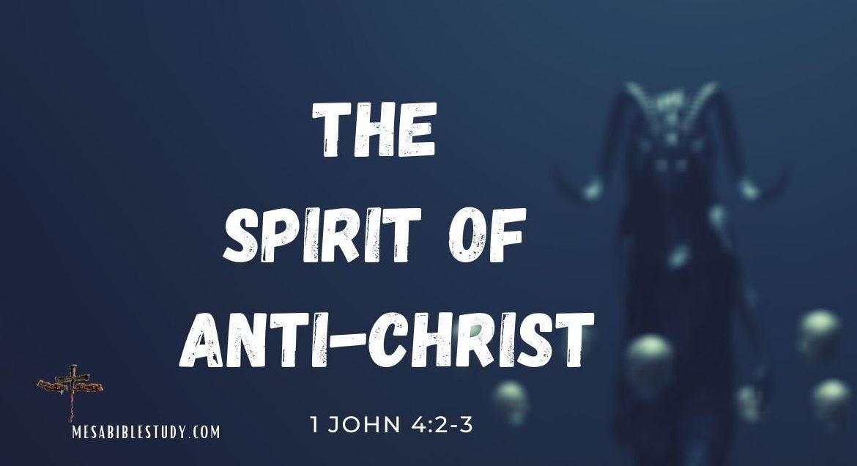 The spirit of Anti-Christ move across America