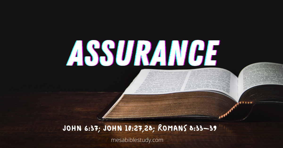 God is our Assurance